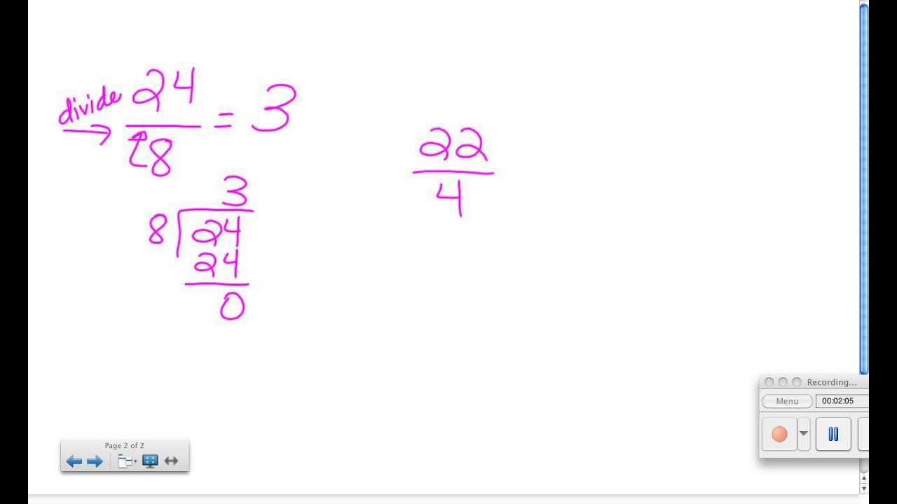 Worksheet Changing Fractions Into Improper Fractions how to change an improper fraction a whole number youtube number