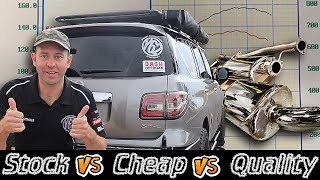 Does $$$ buy you a better sounding and performing exhaust? AVO Cat Back Exhaust Review