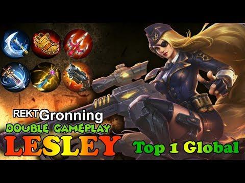 Get Rekt you As*H*l* [ᴿᴱᴷᵀGronning] Top 1 global Lesley Gameplay Mobile Legends