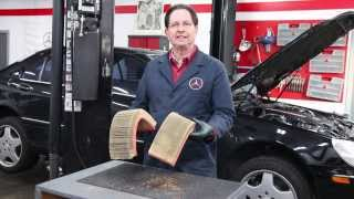 Engine Air Filter Neglect on 1996 to 2006 Mercedes Benz