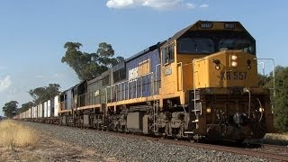Triple Diesels in the Goulburn Valley: Australian Trains