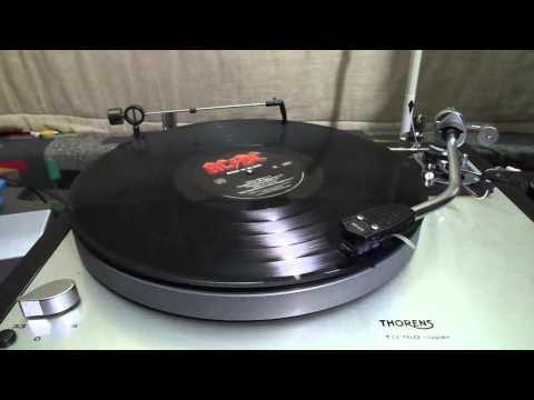 AC/DC - Back in Black - Vinyl - Thorens TD 160 Super