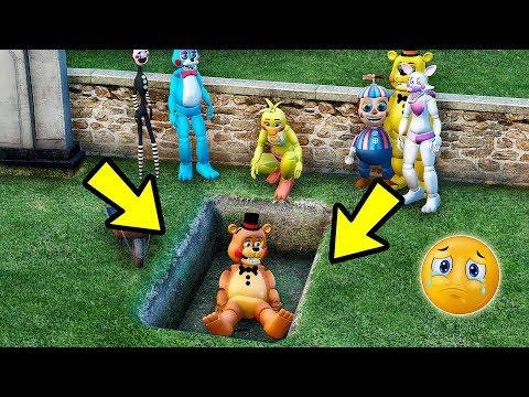 Animatronics R.I.P Toy FREDDY DA MASSA? | GTA V Five Nights at Freddy's