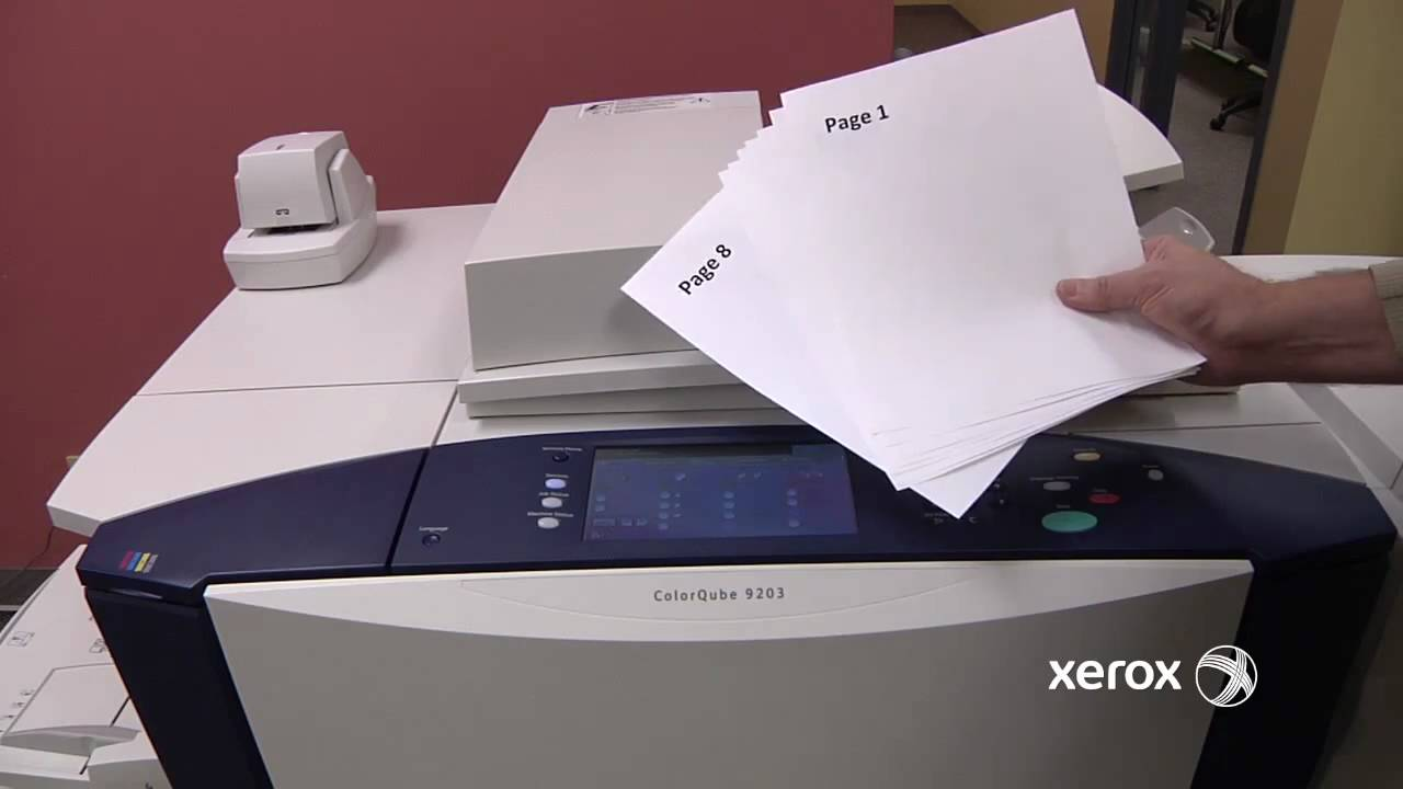 Xerox ColorQube      Series Steyr Case Study   YouTube
