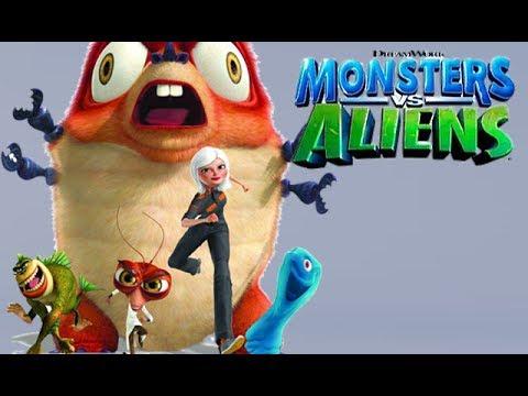 Monsters Vs. Aliens - Ch. 1 Monsters Escape - Part 1 [Xbox 360]