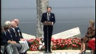 President Reagan's Address at Pointe du Hoc, Normandy, France, June 6, 1984