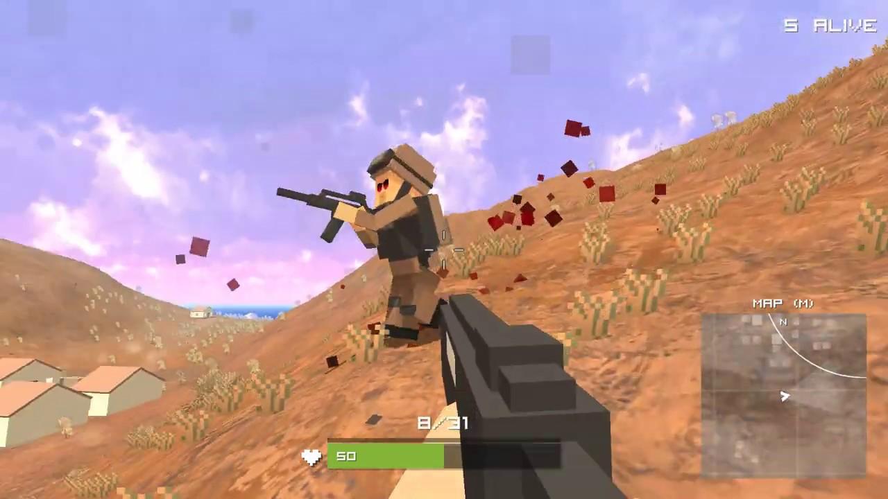 Pixel Battle Royale Unblocked