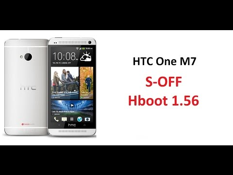 HTC One M7 - S-OFF Hboot 1.56 / Using firewater