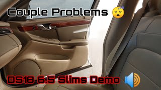 DS18 6.5 Slims Demo! Might Sell Caddi...