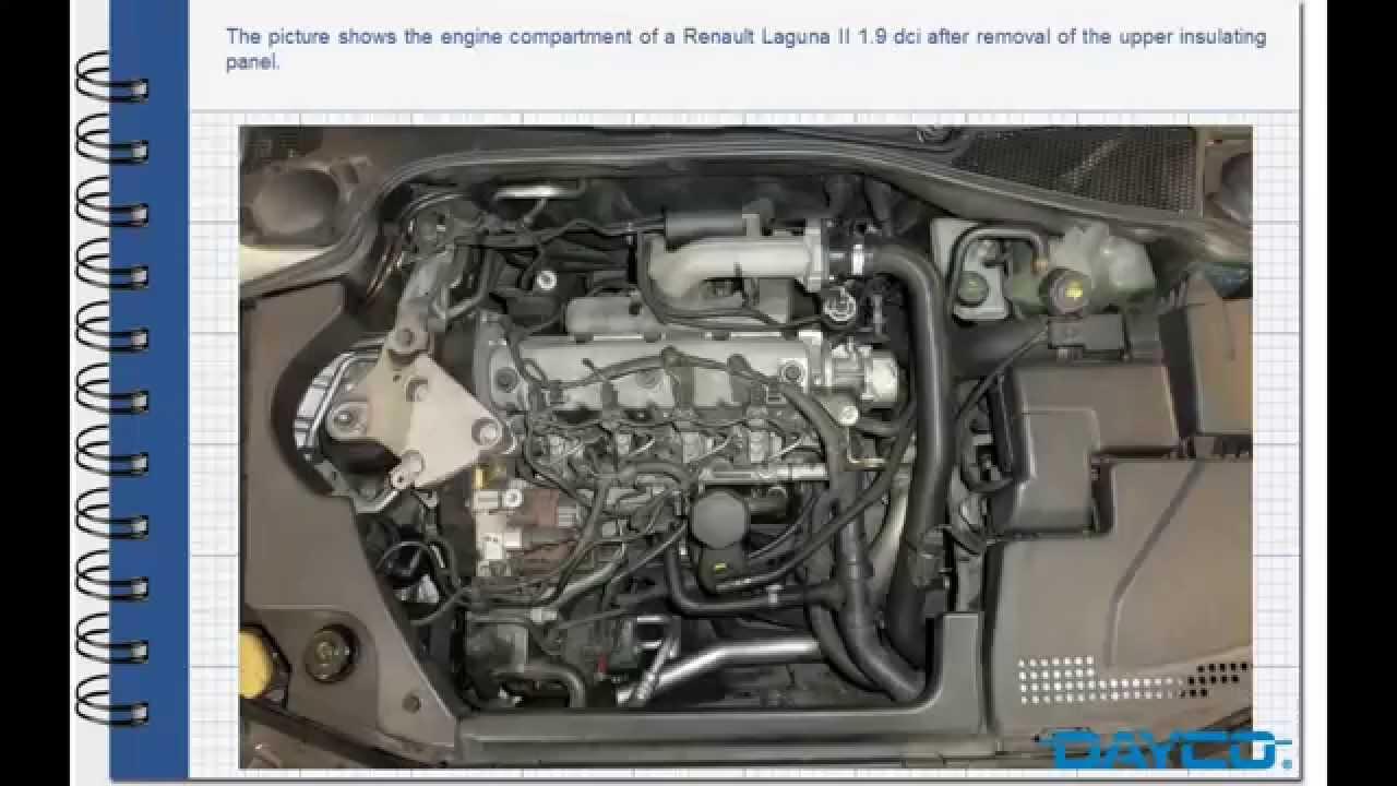 Timing kit installation  Renault Laguna 19 dci Diesel