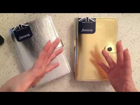 New Gold + Silver Filofax Originals! Plus Project Life x Heidi Swapp Kit!