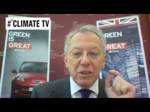 Sir David King, UK Government Special Representative for Climate Change