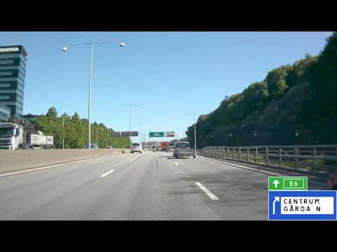 E6 Sweden: Through Gothenburg (Göteborg)
