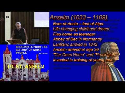 10. St. Anselm