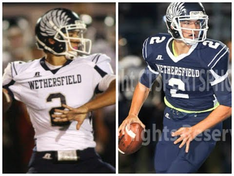 Matt Sanzaro Junior  Year Highlights- Wethersfield High School QB