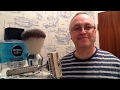Ever Ready 1912 review and shave. New brush. New Nivea Aftershave.