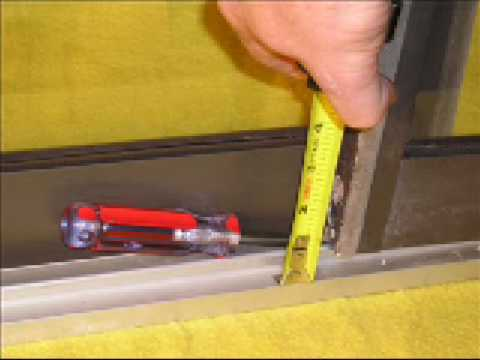 How To Choose Which Sliding Door Track Cover To Use To Fix A Sliding
