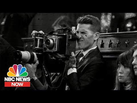 Impeachment Snapshots: Trump's Inquiry Captured By Vintage Camera   NBC News NOW