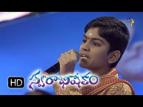 Mahabalipuram Mahabalipuram Song - Abhiram Performance in ETV Swarabhishekam - 8th Nov 2015