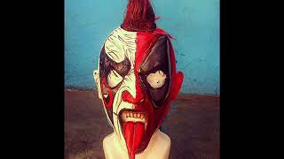 Mascaras de Psycho clown (parte 2)