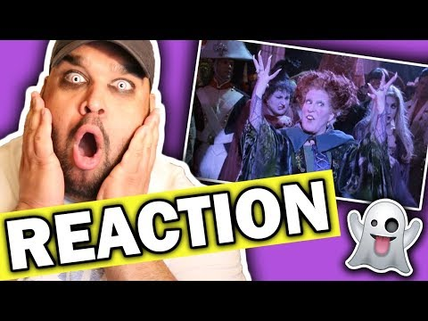 Bette Midler - I Put A Spell On You (Hocus Pocus) REACTION