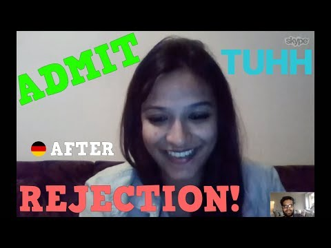 Admit after Rejection: Our success story for TUHH with Shamini