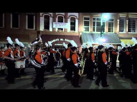 2015 Christmas Parade Dyersburg Tennessee