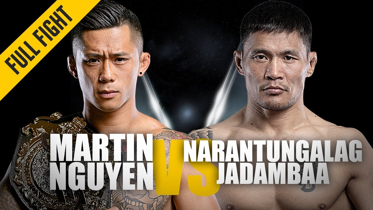 Download Martin Nguyen vs. Narantungalag Jadambaa | ONE: Full Fight | Flying Knee KO | April 2019
