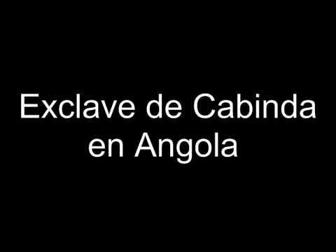 Exclave de Cabinda en Angola