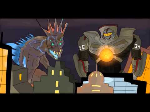 GODZILLA VS GIPSY DANGER  KAIJU MOMENTS  15