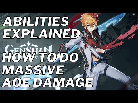 CHILDE ABILITIES GUIDE: Everything You Need To Know About Riptide - Genshin Impact