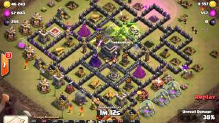 Clash of Clans - Cross Gowipe attack for Royal Gits War