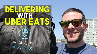 Video UberEATS: How Much Money I Earned Delivering Food For Uber 🍴🍩🍕 download MP3, 3GP, MP4, WEBM, AVI, FLV Agustus 2018