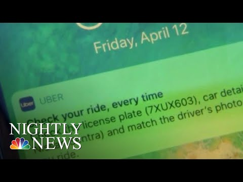 Uber Unveils New Safety Alert System After College Student's Murder | NBC Nightly News