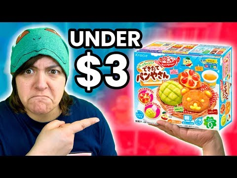 CASH OR TRASH? Testing 4 Weird Japanese Craft DIY Candy Kits Under 3$ SaltEcrafter #67