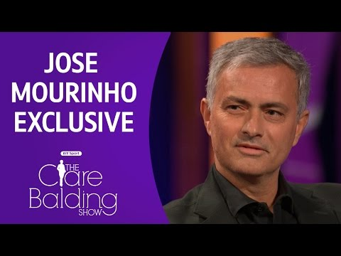 Jose Mourinho exclusive interview | Clare Balding Show | BT