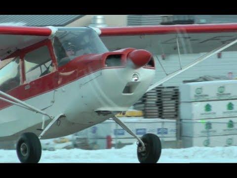 Champion 7GCBC Citabria approach and landing