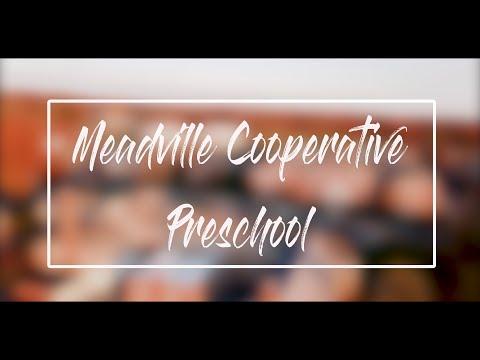 Meadville Cooperative Preschool Students