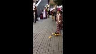 横浜アリーナにて、hide インモーションをやる!