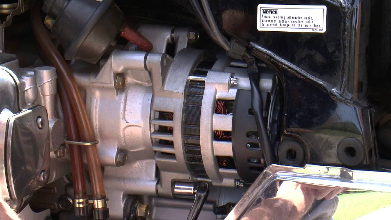 small resolution of goldwing gl 1500 compu fire alternator fitting