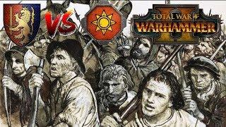 Bretonnia vs Lizardmen | ALBERT TAKES FLIGHT - Total War Warhammer 2