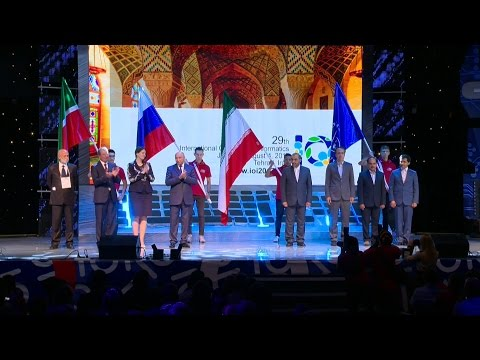 The closing ceremony of the 28th International Olympiad in Informatics  vol.1
