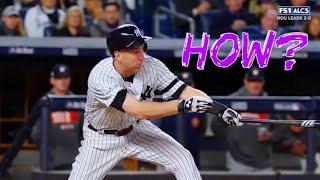 MLB Awkward Hits