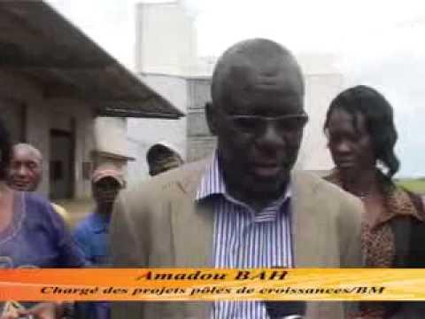 le Vice-Ministre des Finances Roger SHULUNGU à l'Usine de raffinerie d'huile Congo Oil