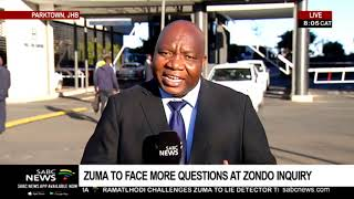 Day Two: Zuma to face more questions at State Capture Inquiry