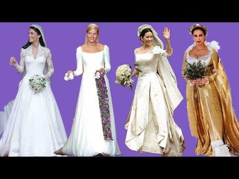The most beautiful royal wedding dresses