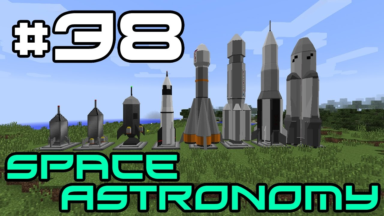 Minecraft Space Astronomy - Tier 3 Rocket! #38 - YouTube
