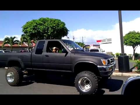 5 Quot Lifted 93 Toyota P Up Truck 4x4 Youtube