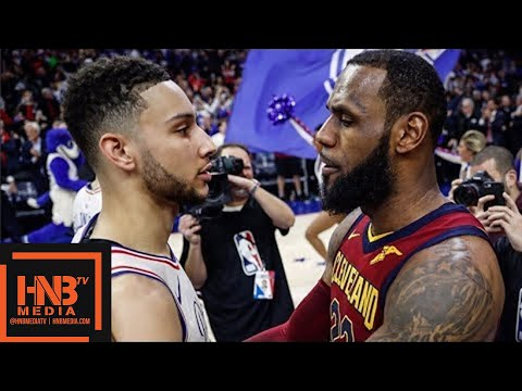 Cleveland Cavaliers vs Philadelphia Sixers Full Game Highlights / April 6 / 2017-18 NBA Season