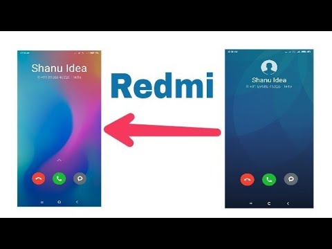 How To Select Incoming call background In Xiaomi Redmi Note 5 Pro